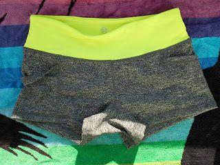 Pantalón corto gym