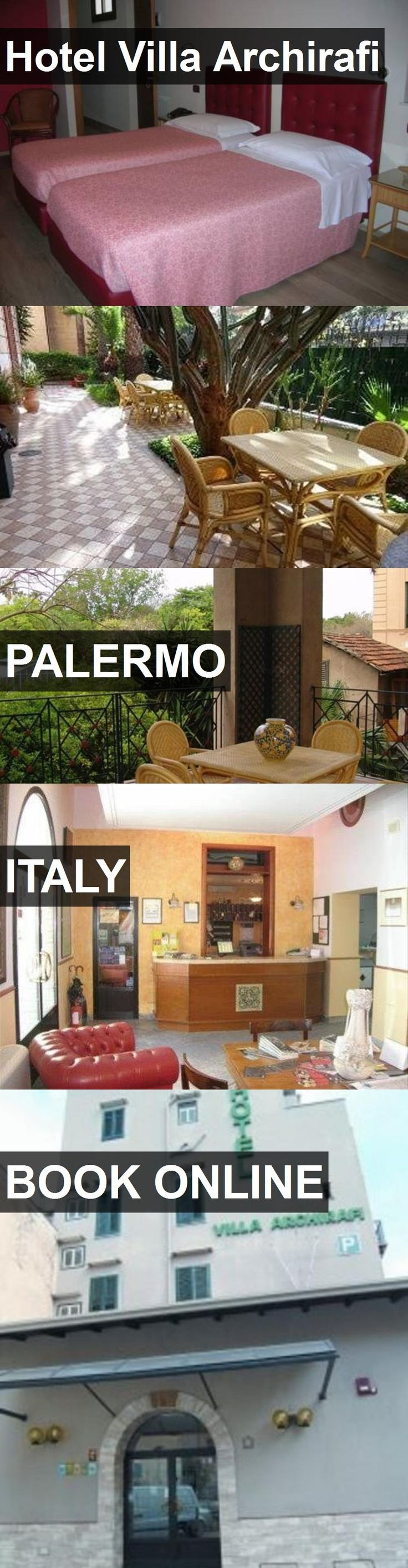 Hotel Hotel Villa Archirafi in Palermo, Italy. For more information, photos, reviews and best prices please follow the link. #Italy #Palermo #HotelVillaArchirafi #hotel #travel #vacation