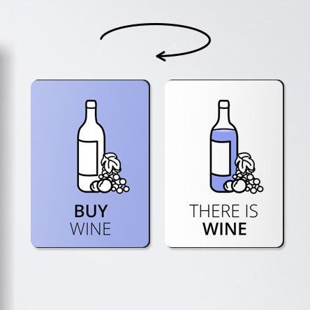 Alcohol gifts - BUY WINE - wine magnet, wine gifts, wine magnets, alcohol gifts, alcohol prints, wine print, wine lover gift by ReminderMagnet on Etsy https://www.etsy.com/listing/260025739/alcohol-gifts-buy-wine-wine-magnet-wine