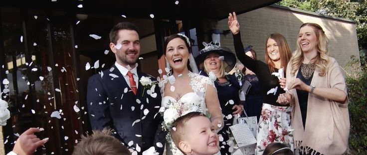 We love this still from Claire & Christopher's wedding trailer! To watch the full trailer go to our Wedding video board!