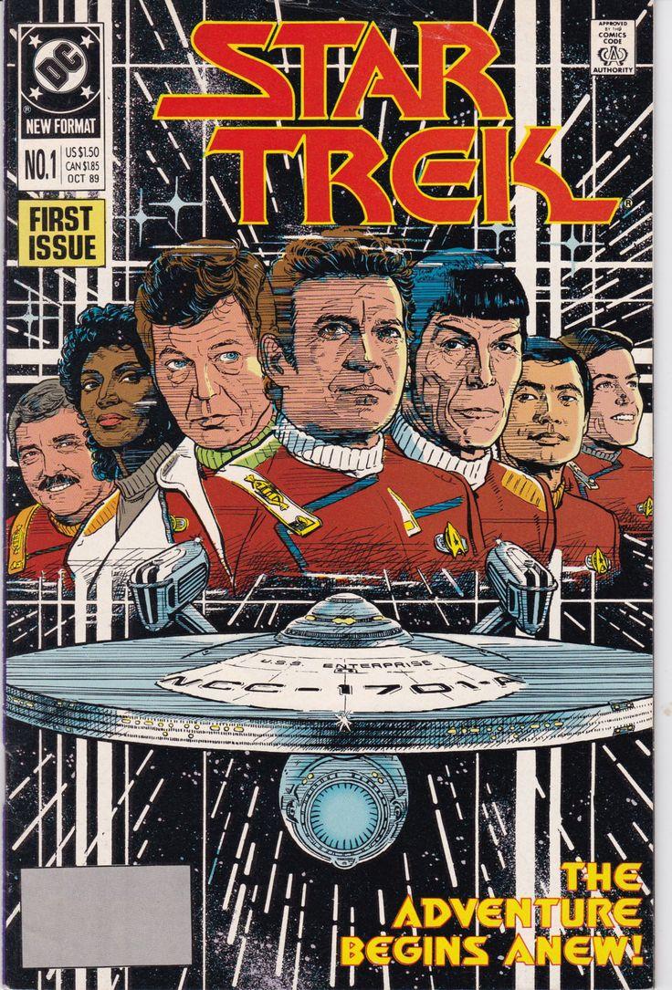 1590 best star trek images on pinterest vintage comics comic vintage star trek original series number 1 october 1989 dc comics fandeluxe Ebook collections