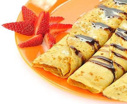 Recept Palačinky - základní předpis od Reine - Recept z kategorie Dezerty a sladkosti