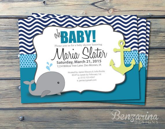 top 25 ideas about boy baby shower on pinterest nautical baby shower invitations