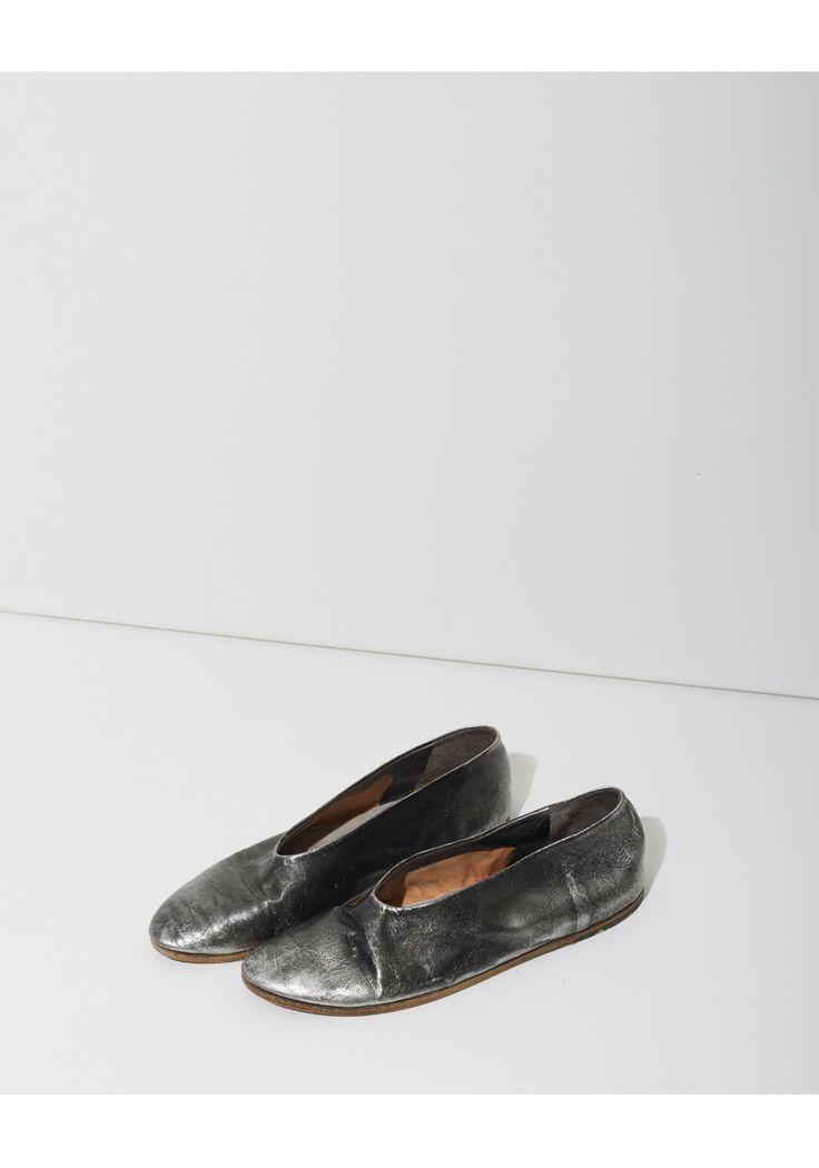 Marsèll Coltellaccio Metallic Slipper | La Garçonne