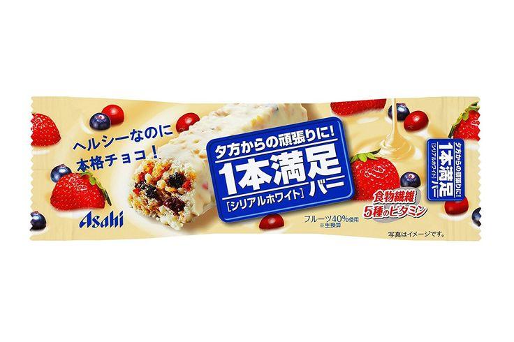 Amazon | アサヒグループ食品 1本満足バー シリアルホワイト 1本×9個 | 1本満足 | 栄養補助スナック 通販