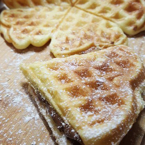 Waffel ricetta bimby