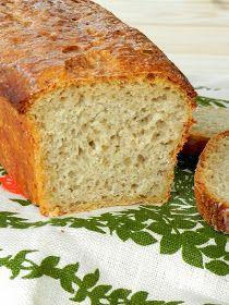 prosty chleb na drożdżach,Nocny chleb owsiany,chleb nocny,płatki owsiane,pieczywo na drożdżach,śniadanie,przepis na chleb