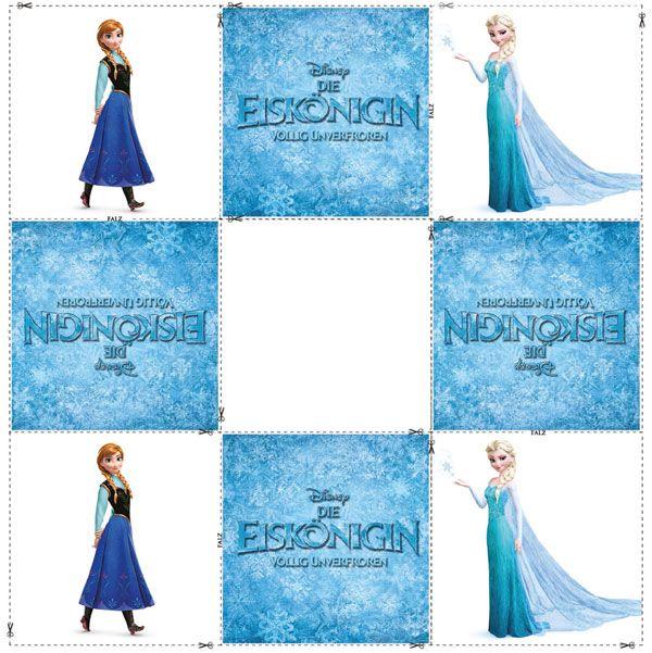 """Wir präsentieren Ihnen und Ihrem Kind eine ganz besondere Bastelanleitung zum Kinofilm """"Die Eiskönigin - Völlig unverfroren"""". Basteln Sie gemeinsam ein Memory Spiel mit den Figuren aus der Geschichte."""