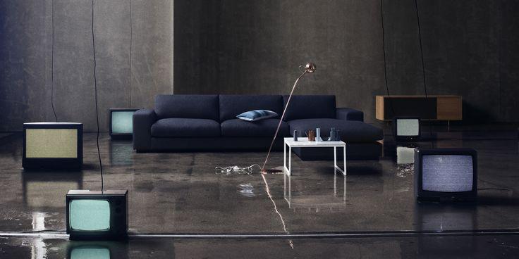sepia sofa and como 60x60 coffee table italian lounging. Black Bedroom Furniture Sets. Home Design Ideas
