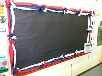 tissue paper bulletin board borders