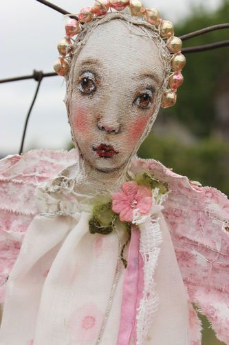 textile doll....k d milstein...fadedwest.com