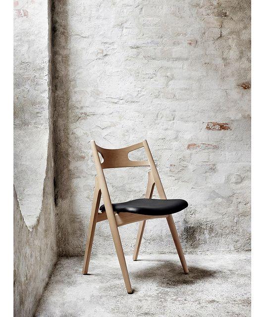 the sawbuck chair designed by hans j wegner in for carl hansen u0026 sn
