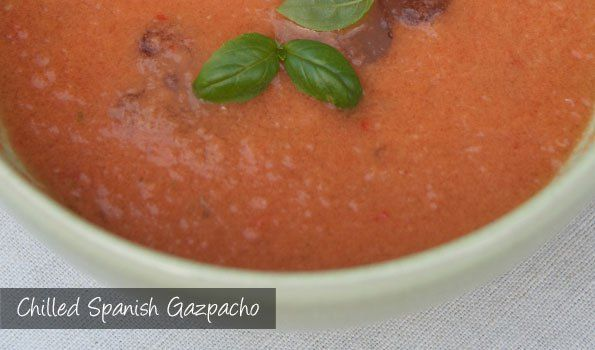 The Delia Smith Project (#80) from Eine Kugel Vanilla: Chilled Spanish Gazpacho