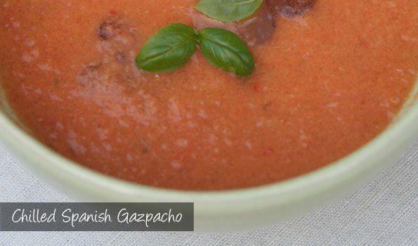 The Delia Smith Project (#80) from Eine Kugel Vanilla: Chilled Spanish Gazpacho