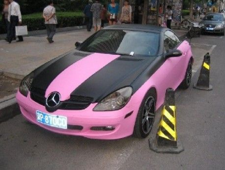 1000 ideas about hot pink cars on pinterest pink cars for Pink mercedes benz
