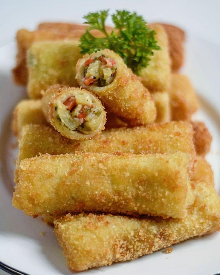 Resep risoles enak dan simpel istimewa di 2020 | Resep, Makanan dan minuman, Makanan mudah