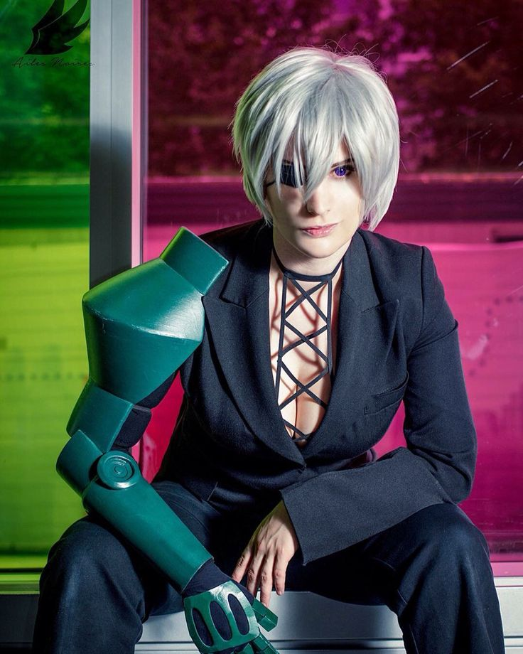 Najenda from Akame Ga Kill Cosplayed by Alex Rose Photographed by Ailes Noires Cosplay Photography Source: Alex Rose Cosplay via Facebook