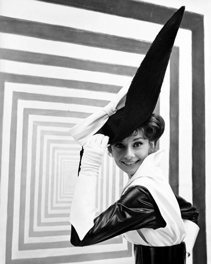 1963: AH/costume designed by Beaton for the musical 'My Fair Lady'. (Beaton)