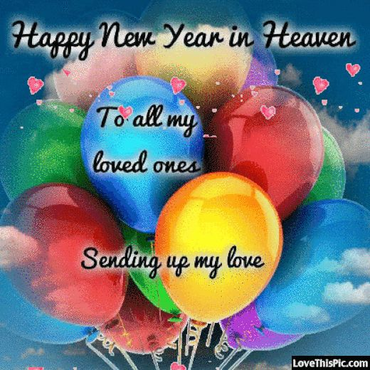 Happy New Year In Heaven Quote