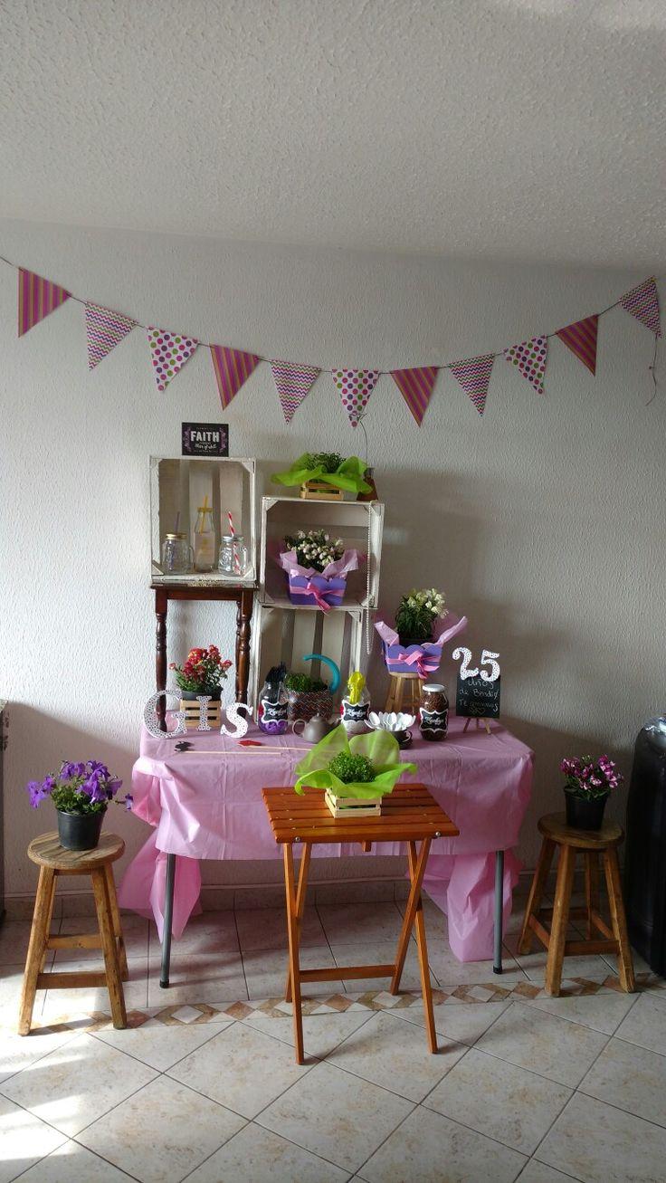 Cumple 25 Fiesta Pinky