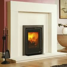 Image result for contemporary fireplace surrounds for cassette woodburners