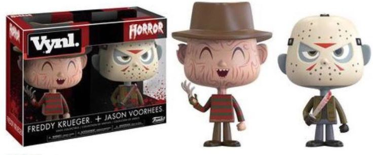 You can never have enough Freddy and Jason toys... right? It seems like Funko launches a new vinyl toy line every week, and we're kind of okay with that. T