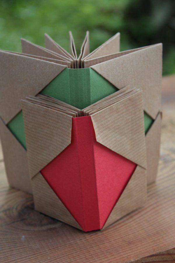 Leporello basteln - einfache Bastelideen mit Papier