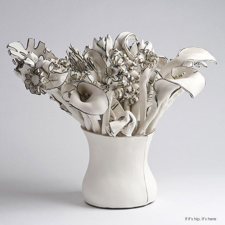 Vase of stems Katharine Morling IIHIH