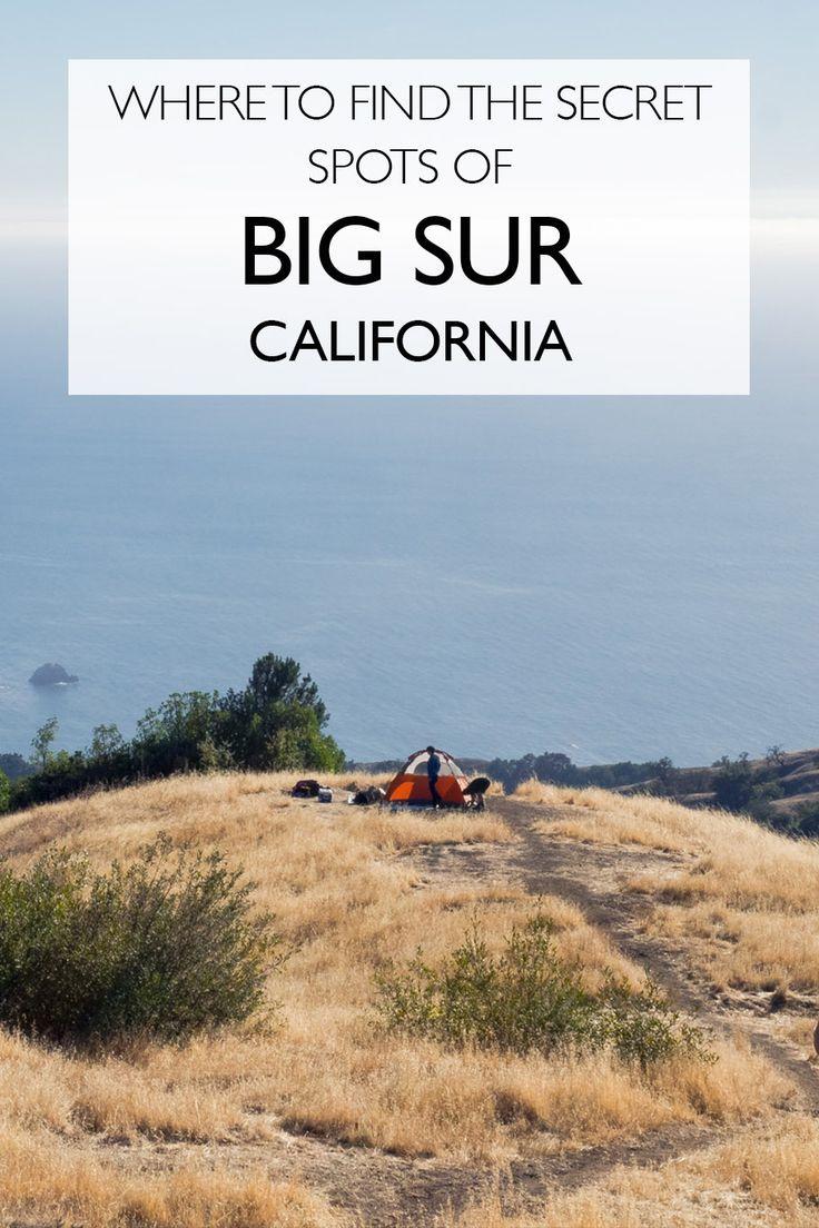 Where To Find The Secret Spot Of Big Sur | California Roadtrip | Camping Big Sur