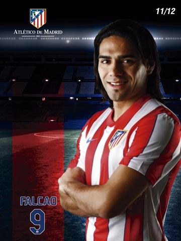 """Radamel """"EL TIGRE"""" Falcao:: Tienda Club Atlético de Madrid ::"""