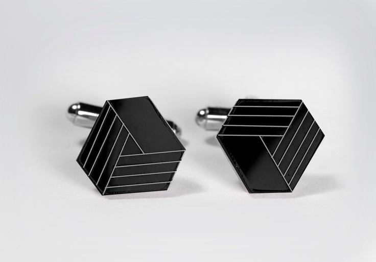 I love these cufflinks, but all I could think of was Google Drive