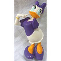 Disney Mickey Mouse Club House Daisy Duck Petite Doll Cake Topper Figure, Style May Differ