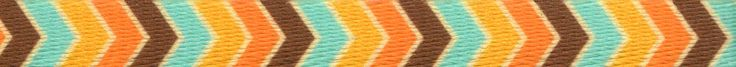 """Country Brook Design 3/8 Inch Harvest Chevron Polyester Webbing, 50 Yards. 100% Polyester. Approximately 0.044"""" or 1.11mm thick. 450 lbs tensile strength. Melting point of 500 degrees Fahrenheit. UV, Rot, mildew and Moisture Resistant."""