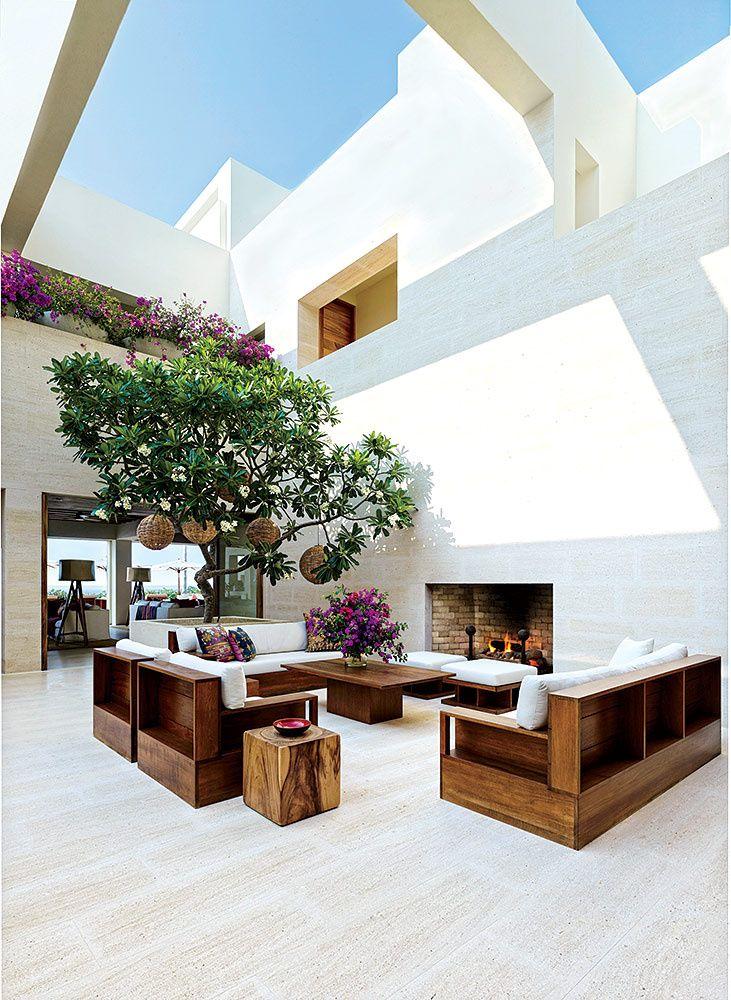 La sala exterior.   Galería de fotos 4 de 12   AD MX
