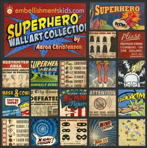Superhero Wall Decor 66 best superhero artwork, wall decor, ideas and inspirational