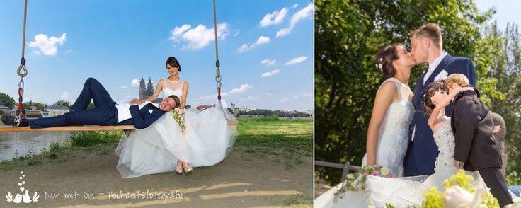 Bild: Hochzeitsfotos eines Brautpaares in Magdeburg
