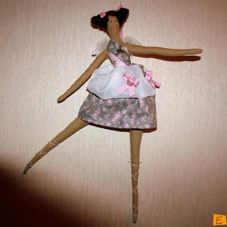 Куклы - Тильда Балерина   Eksklyuziff.com