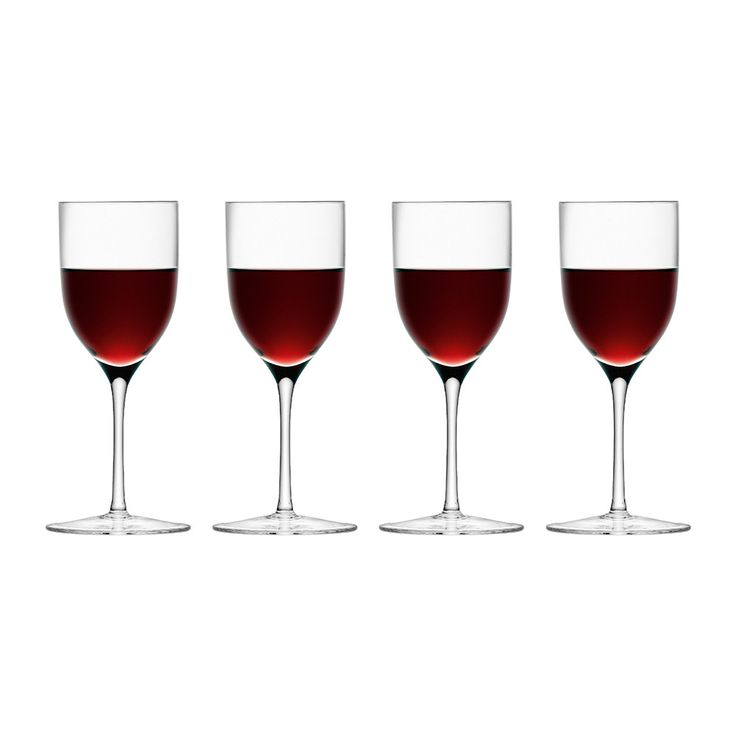 LSA International - Bar Port Glasses - Set of 4