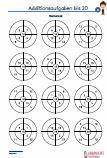 #Addition #Rechenrad - 20 Arbeitsblätter / Übungen / Aufgaben für den #Mathematikunterricht -  Grundschule.  #Additionsaufgaben Rechenrad bis 20, zum Vertiefen der Rechenfertigkeit. •2 Ringe /  4 Segmente - 3 Arbeitsblätter •2 Ringe /  5 Segmente - 3 Arbeitsblätter •2 Ringe /  6 Segmente - 3 Arbeitsblätter •2 Ringe /  7 Segmente - 3 Arbeitsblätter •2 Ringe /  8 Segmente - 3 Arbeitsblätter  15 Arbeitsblätter