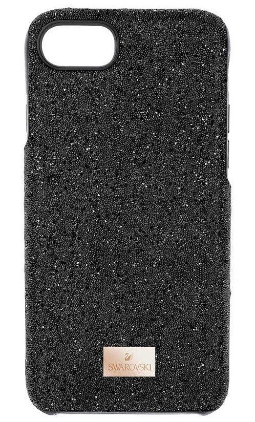 Swarovski Telefoonhoes met Bumper High Black Samsung Galaxy S8* 5356655. Uniek en trendy zwarte Smartphonecase voor een Samsung Galaxy S8*. Een supergaaf hoesje voor een smartphone, gezet met zwarte crystal rock kristallen in een trendy design. Een perfect accessoire voor elke modebewuste dame. Het smartphone hoesje is bovendien voorzien van een metalen, rosekleurig labeltje met het logo van Swarovski. De afmetingen van de hoes zijn 15,5 x 7,5 x 1 cm. Samsung Galaxy is een handelsmerk van…