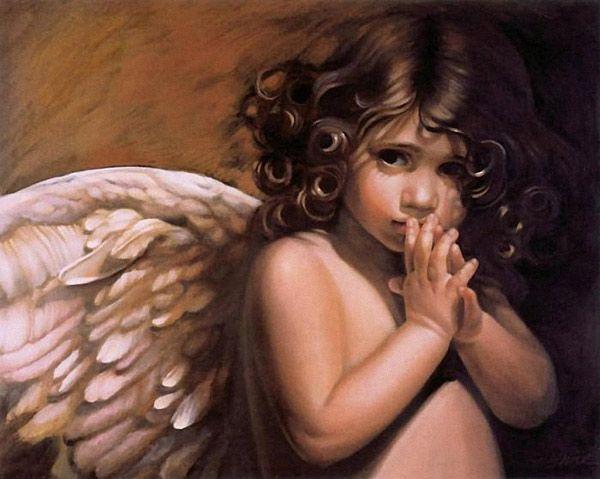 Magnifiques peintures d'enfants - anges by Nancy Noel - BONHEUR DE LIRE