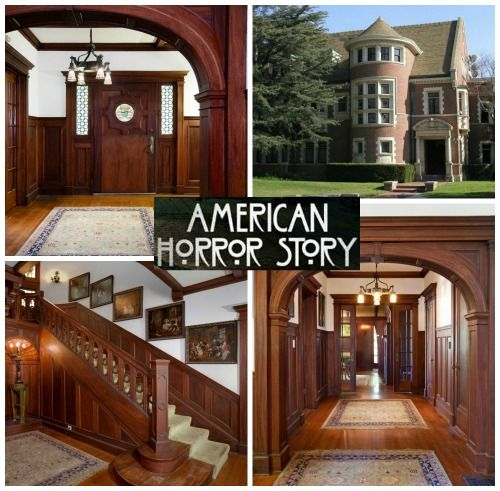 American Horror Story Murder House 1120 Westchester For Sale?! I would love to live in the murder house!!