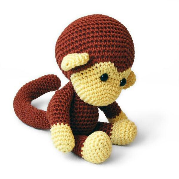 crochet monkey Crochet projects Pinterest Too cute ...