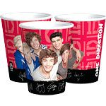 Cups: One Direction Party Paper Cups (8pk)