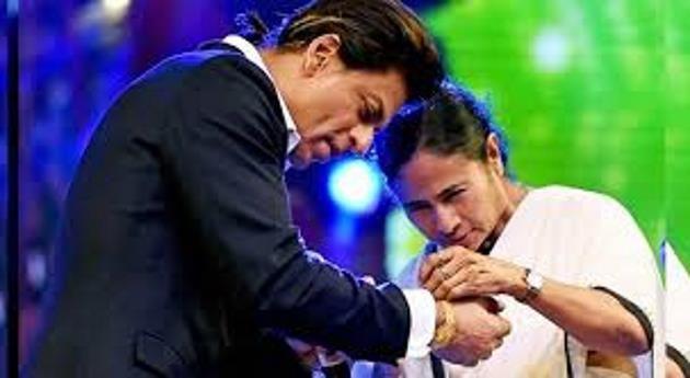 Mamata Banerjee wishes SRK on turning 52 , http://bostondesiconnection.com/mamata-banerjee-wishes-srk-turning-52/,