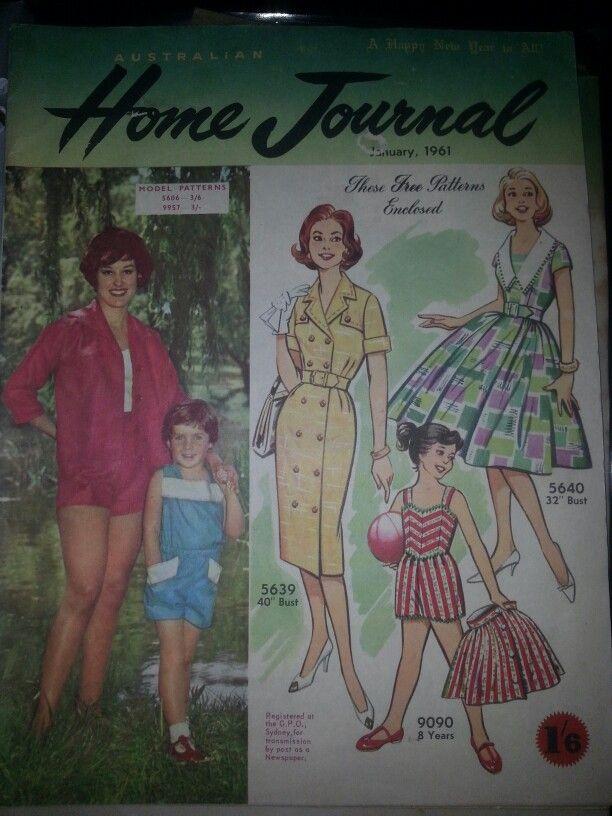 Australian home journal January 1961 cover