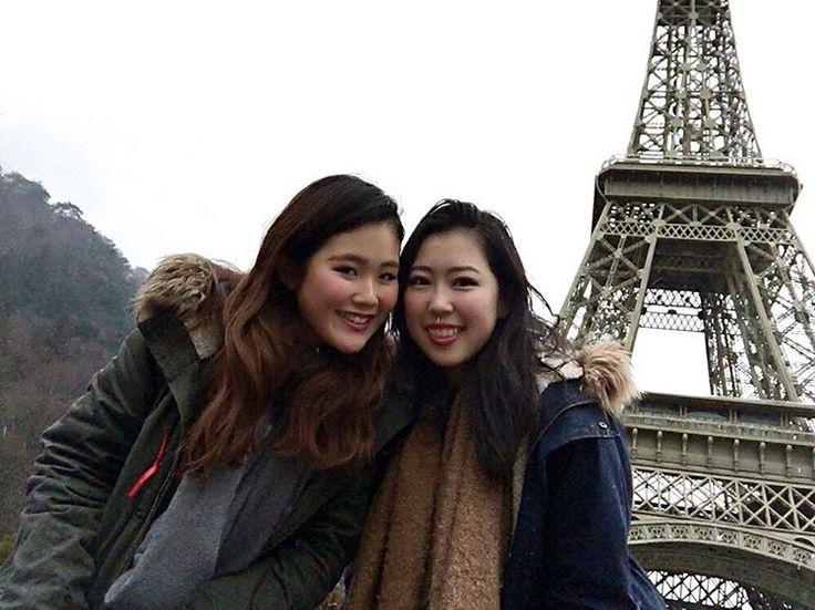 フランスのエッフェル塔に行ってきました✌❤️(嘘です)  #france #eiffeltower #tobuworldsquare