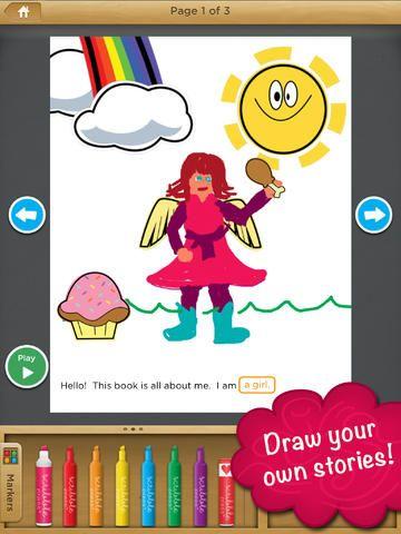 Lectoescritura. Para crear cuentos #gratis #iOs #iPad