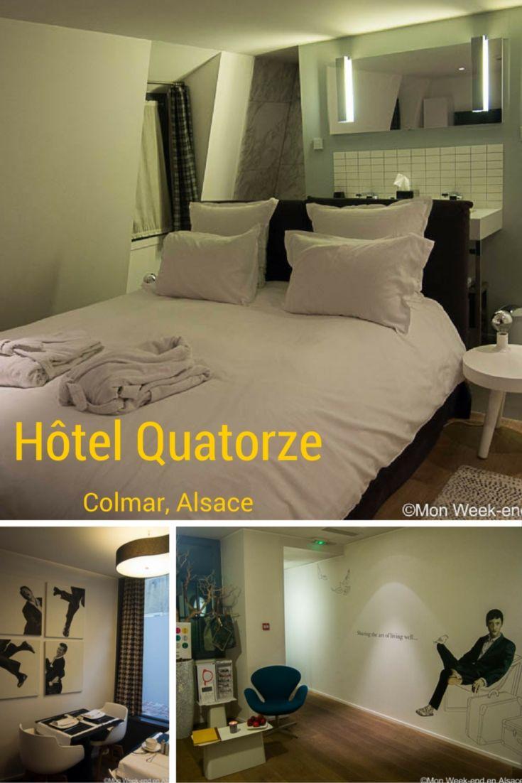 Idée d'hôtel design à Colmar - Hôtel Le Quatorze
