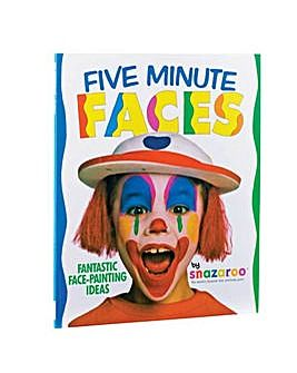 Five Minute Faces Face Painting Book